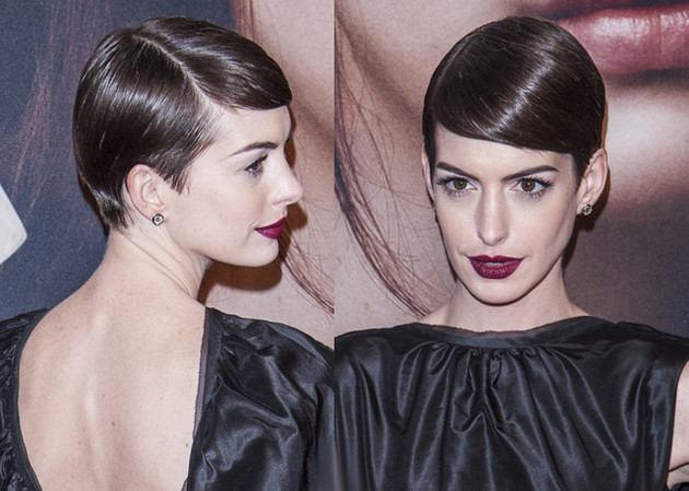 Anne Hathaway's Short Hair Style