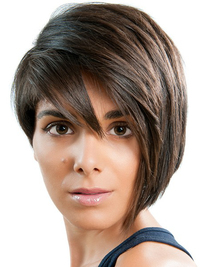 Modern Asymmetrical Bob Haircut