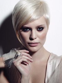 Sleek Straight Asymmetrical Bob Haircut