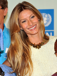 Gisele Bundchen Balayage Highlights