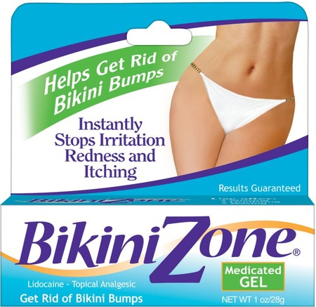 Bikini Zone Medicated Gel