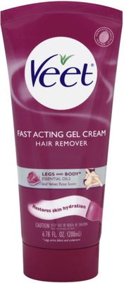 Veet's Fast Acting Gel Cream Hair Remover For Legs   Body