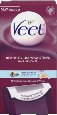 Veet Ready To Use Wax Strips For Legs   Body