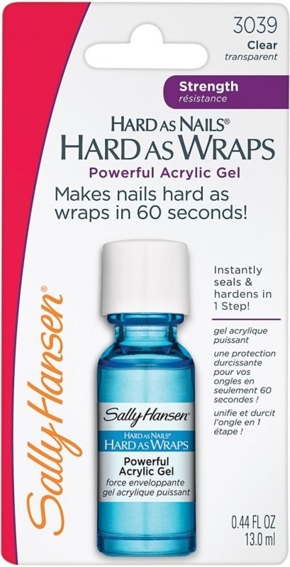 Pictures Best Nail Strengthening Products Sally Hansen Hard As Nails Hard As Wraps Powerful