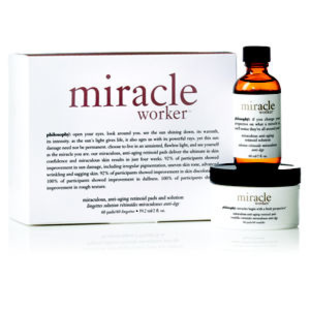 Philosophy The Miracle Worker Miraculous Anti Aging Retinoid Pads And Solution
