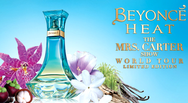 Beyonce's New Fragrance: Heat The Mrs. Carter Show World Tour