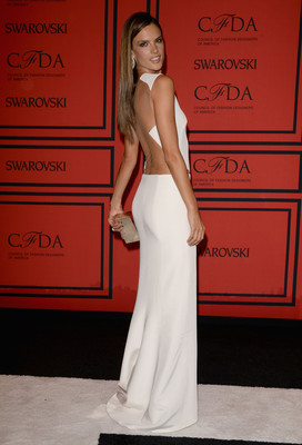 Alessandra Ambrosio Dress 2013 Cfda Fashion Awards