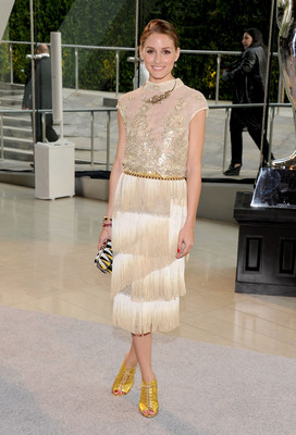 Olivia Palermo Dress 2013 Cfda Fashion Awards