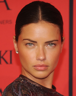 Adriana Lima Cfda Awards 2013 Hairstyle