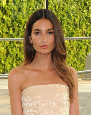 Lily Aldridge Cfda Awards 2013 Hairstyle