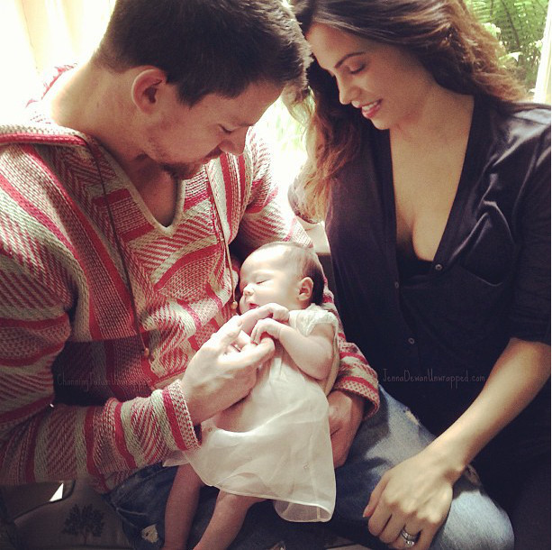 First Photo Of Channing Tatum's Daughter   Everly Tatum