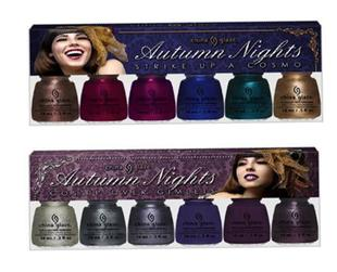 Have a glimpse of the new season's hottest offerings from China Glaze from the Autumn Nights fall 2013 collection.