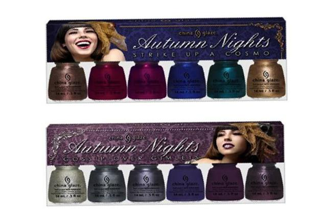 China Glaze Autumn Nights Nail Polish Collection