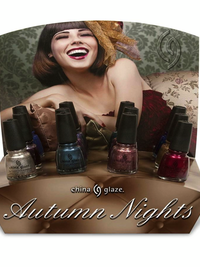 China Glaze Autumn Nights Fall 2013 Nail Polishes