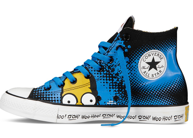 Converse The Simpsons Sneakers Homer