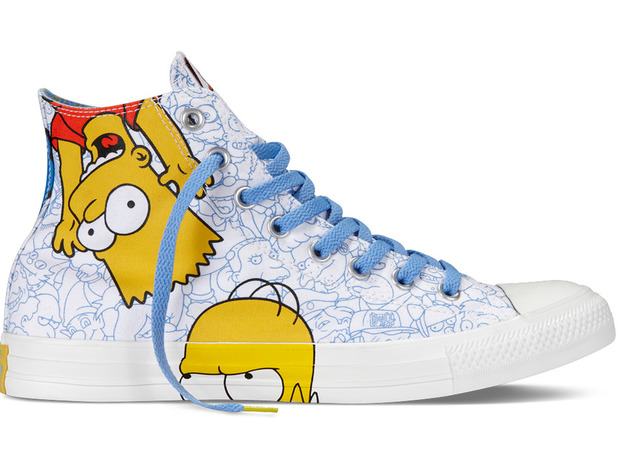 Converse The Simpsons Sneakers Design