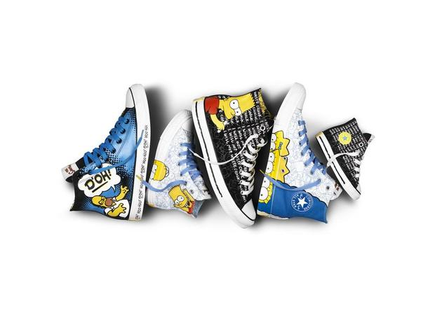 Converse x The Simpsons Sneakers