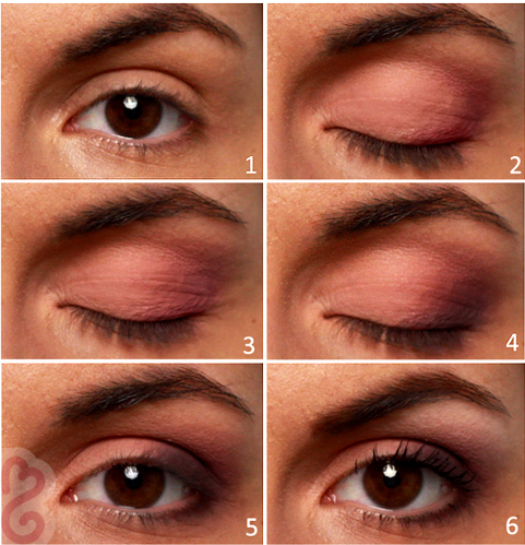 Pictures : Daytime Brown Eyes Makeup Tutorial - Easy Brown ...