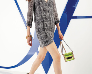 For the resort 2014 season, designer Diane von Furstenberg focused on effortlessly sexy ensembles. Check out the line's best looks.