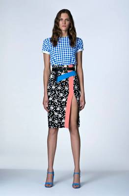 Look 5 From Emanuel Ungaro's Resort 2014 Collection