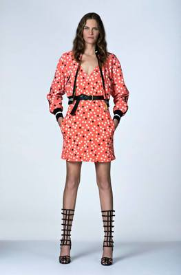 Look 6 From Emanuel Ungaro's Resort 2014 Collection