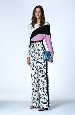 Look 8 From Emanuel Ungaro's Resort 2014 Collection
