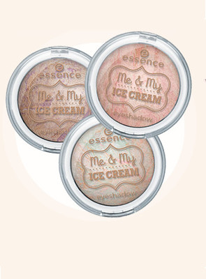 Essence Me   My Ice Cream Trend Edition Eyeshadows