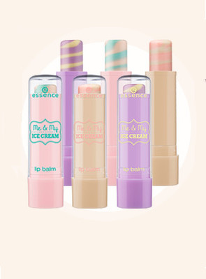Essence Me   My Ice Cream Trend Edition Lip Balms