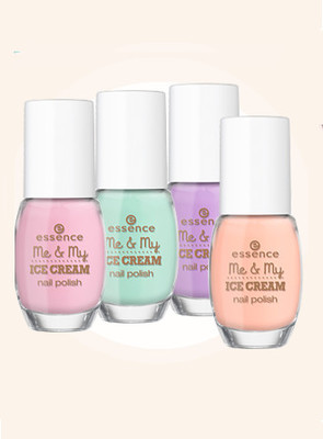 Essence Me   My Ice Cream Trend Edition Nail Polishes