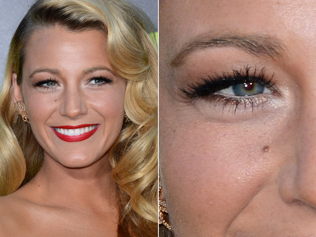 Hooded Eyes Blake Lively