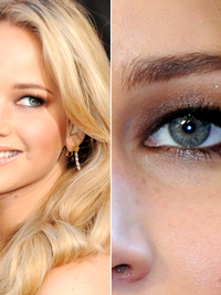Hooded Eyes Jennifer Lawrence