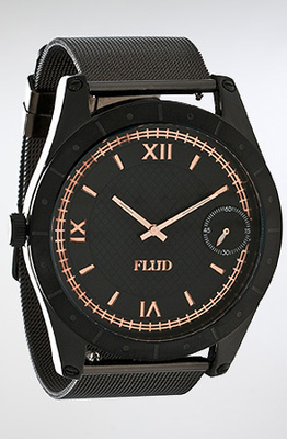 The Big Ben Watch In Black   Rose