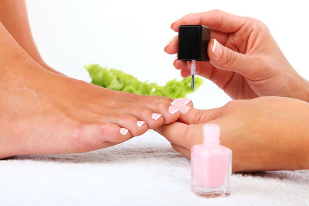 First Pedicure Tip