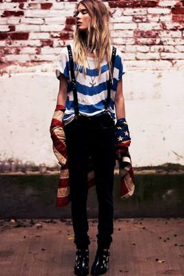 Free People American Beauty Look 2