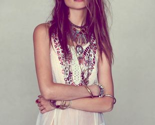Check out this month's hottest looks from Free People for a fashionable summer 2013!