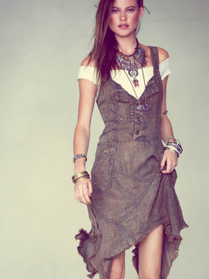 Free People Denim Dress