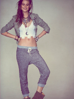 Free People Drop Crotch Pants