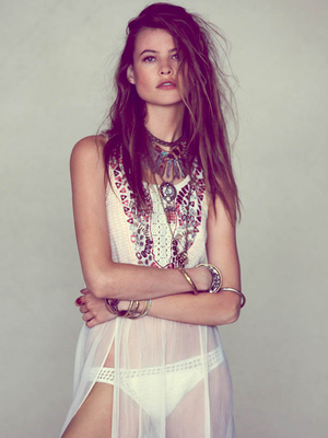 Free People Sheer Slip Dress