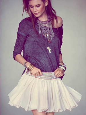 Free People Skater Skirt