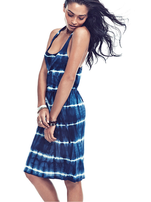 Gina Tricot Tie Dye Beach Dress