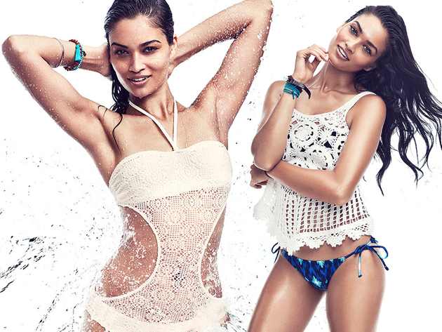 Gina Tricot 2013 'Summer Splash' Beach Collection