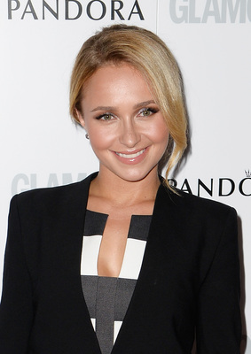 Hayden Panettiere Updo From The Glamour Women Of The Year Awards 2013