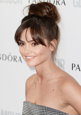 Jenna Louise Coleman Balllerina Bun Glamour Women Of The Year Awards 2013
