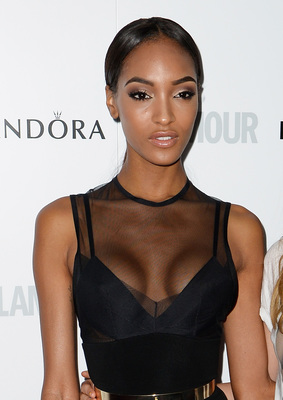 Jourdan Dunn Hairstyle From Glamour Women Of The Year Awards 2013