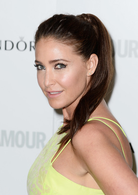 Lisa Snowdon Glamour Ponytail Women Of The Year Awards 2013
