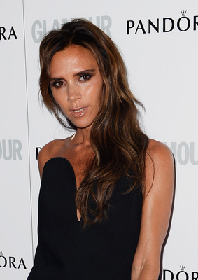 Victoria Beckham Loose Wavy Hair Glamour Women Of The Year Awards 2013