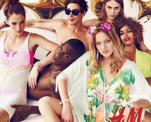 Prep your wardrobe for the sunny season with H&M's Indie Festival collection 2013!