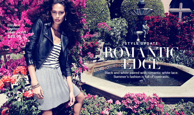 H&M Romantic Edge 2013 Lookbook