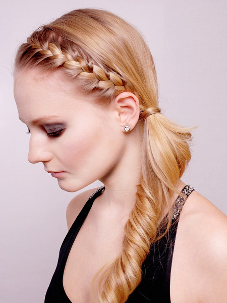 Stupendous Updos With Braids And Bangs Braids Short Hairstyles Gunalazisus