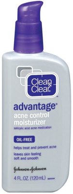 Clean   Clear Advantage Oil Free Acne Moisturizer